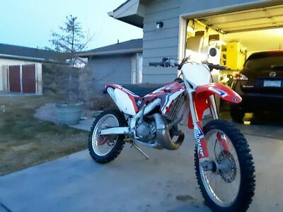 2005 Honda CR  honda cr250r 05 title and plated
