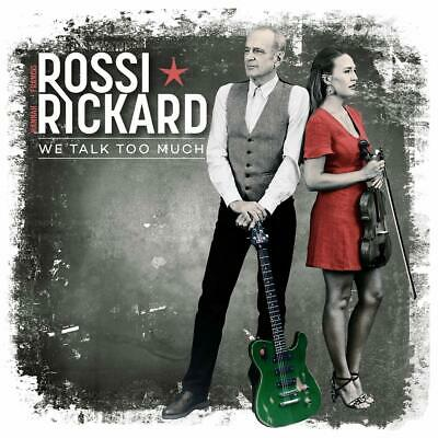 Francis Rossi & Hannah Rickard - We Talk Too Much [CD] Sent Sameday*