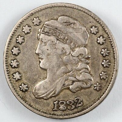 1832 Capped Bust Silver Half Dime H10C