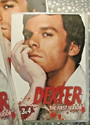 Dexter The First Season 4 Disc DVD Set Complete PreOwned Very Good Condition