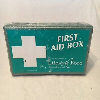 Ford First Aid Box Kit - With Compliments Of Lifestyle (2007-06)