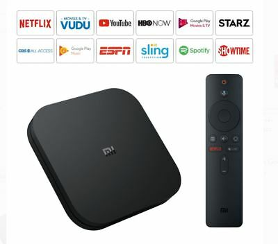 NEW Xiaomi Mi Box S 4K HDR Android TV w/ Google Assistant Remote Streaming Media