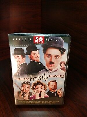 Timeless Family Classics: 50-Movie Collection (12-DVD)NEW-Free S&H with Tracking