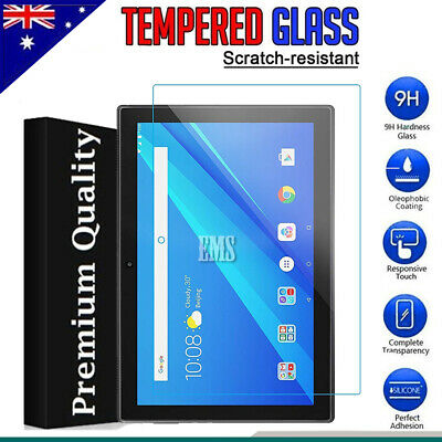 Scratch Resist Tempered Glass Screen Protector For Lenovo TAB E10 & M10 10.1""