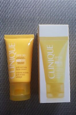 Clinique Sun Sonnencreme Gesichtscreme SPF 30 • Anti Wrinkle Face Cream ♡ Vichy
