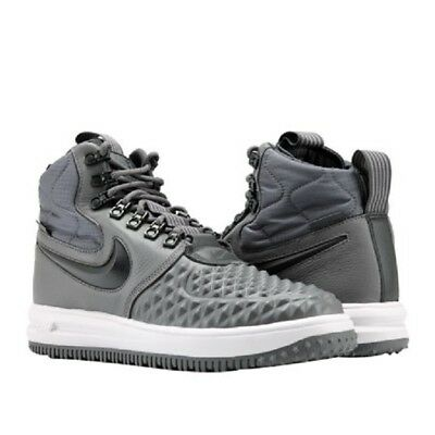 6c690995dccd New Men s Nike Lunar Force 1 Duckboot  17 916682-003 Anthracite Grey Sz 8.5