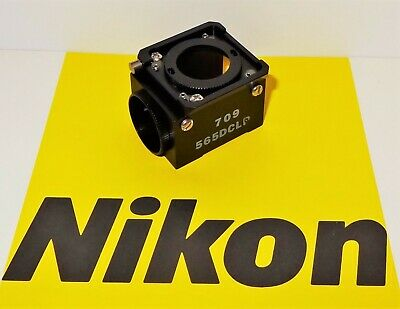 Nikon Chroma 565DCLP Fluorescent  Microscope Filter Cube Labophot, Optiphot, TMD