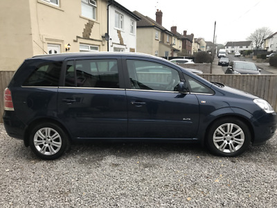 Vauxhall Zafira 1.7 cdti ELITE *** NOW WITH 12 MONTHS MOT**LOW MILES** FSH