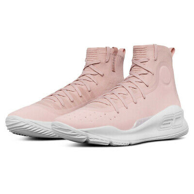 597612434131 Under Armour Mens Curry 4 Basketball Shoes Pink Sports Breathable  Lightweight