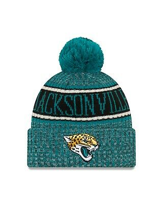info for 4096c a602d Jacksonville Jaguars New Era 2018 Sport Knit Sideline Knit Hat- Teal