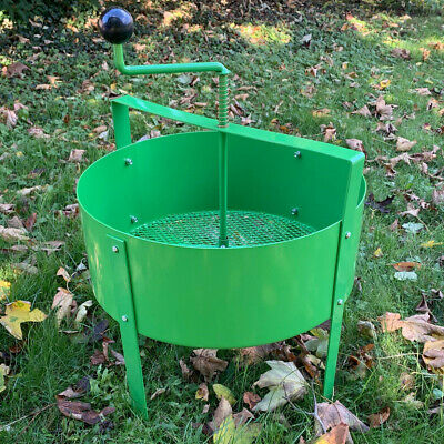 Rotary Soil Sifter Compost Sieve Large Earth Riddle