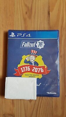 Fallout 76 Tricentennial Edition ps4 neu in OVP