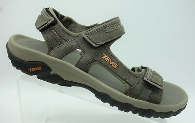5476257448f Teva Taupe Gray Adjustable Ankle Strap Sport Casual Sandals Men s Shoes 12