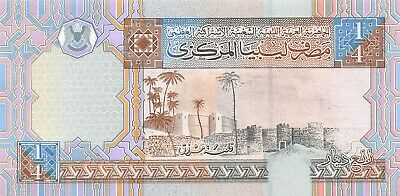 Libya 5 Dinars Nd 2002 Pick 65 Unc Uncirculated Banknote Paper Money: World