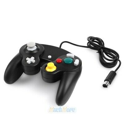 Black Shock Game Controller Pad for Nintendo Gamecube GC Wii 100% BRAND NEW