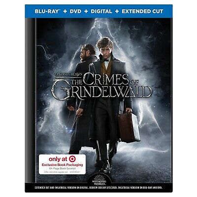 Fantastic Beasts The Crimes of Grindelwald Target Exclusive Bluray Brand New