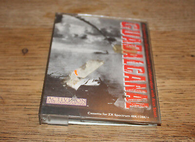 Guadalcanal - Activision - Sinclair Spectrum Cassette Game - Back of box missing