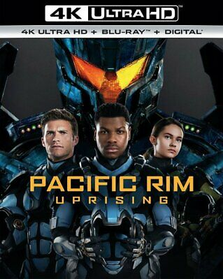 Pacific Rim: Uprising (4K Ultra HD, Blu-ray + Digital, 2018) NEW