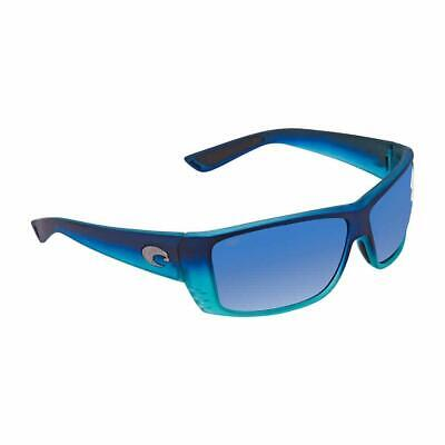 fcf92703226 COSTA DEL CAT Cay Blue Mirror Polarized Plastic Rectangular ...