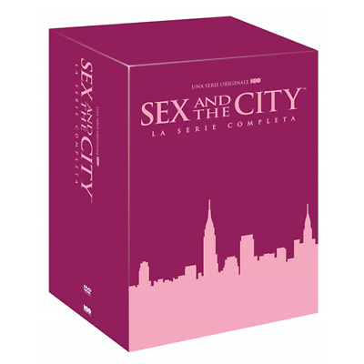 STV *** SEX AND THE CITY - Serie Completa (17 Dvd) *** sigillato