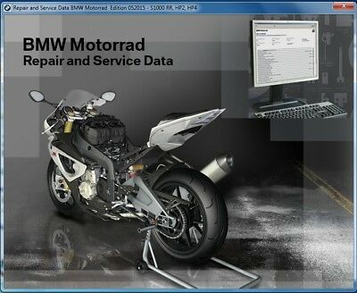 2014-2015-2016 BMW R 1200 RT ( R1200RT K52 ) RepROM Service Manual on a DVD