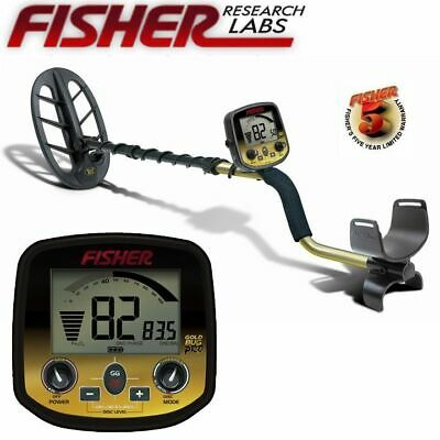 """Fisher Gold Bug DP Metal Detector with 11"""" Elliptical Search Coil"""