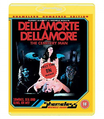 Dellamorte Dellamore (UK IMPORT) BLU-RAY NEW