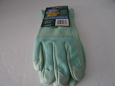 Boss Leather Palm Garden/work Glove, Ladies (Green) 791