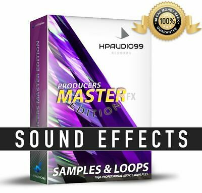 SAMPLES LOOPS FX Producers EFFECTS Bundle - CINEMATIC Sound FX's SFX AUDIO .WAV