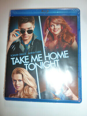 Take Me Home Tonight Blu-ray retro 80s comedy movie Topher Grace Anna Faris NEW!