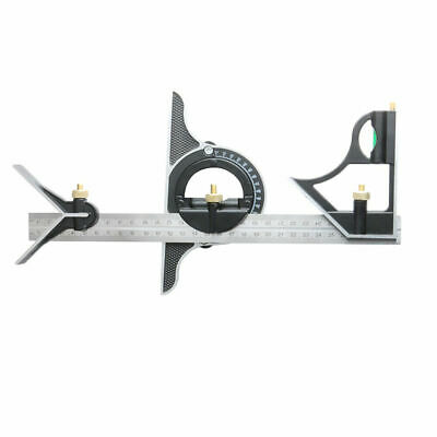 GN- Adjustable alloy Combination Level Gauge Meter Angle Metric Ruler Square Ang