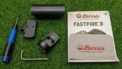 Burris Fastfire III Red Dot Reflex 3 MOA Sight, Picatinny Mount (Black) - 300234