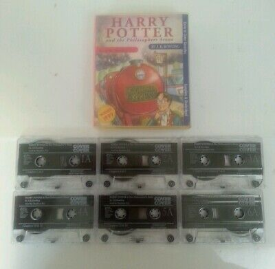 AUDIO BOOK CASSETTE - Harry Potter & The Philosopher's Stone Read By Stephen Fry