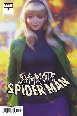 SYMBIOTE SPIDER-MAN #1 (OF 5) Stanley Artgerm Lau Variant Trade Dress -  PRESALE