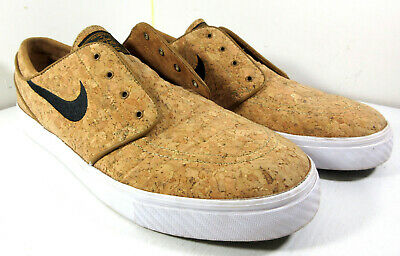 d9f66be230f NIKE SB Zoom Stefan Janoski Elite Cork Ale Brown Skate Shoes 725074-201  Size 13