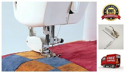 Even Feed/Walking Foot Sewing Machine Presser Foot Quilt Guide Made for Brother