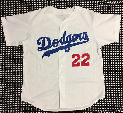 61862dd3d Vintage 80 s MLB LA Dodgers Baseball Jersey  22 Majestic Sz XL Made In USA