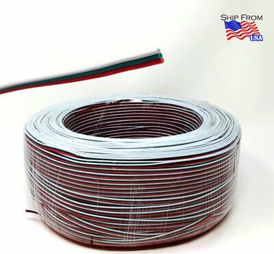4ft-328ft WS2811/2812 Dream LED Strip 3 Pin Extension Cable Wire Connector Cord