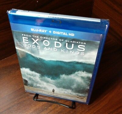 Exodus: Gods and Kings (Blu-ray Disc, 2015) Brand NEW-Free Shipping with Trackin