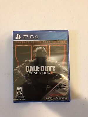 Call of Duty Black Ops III 3 Zombies Chronicles Edition Sony Playstation 4 PS4