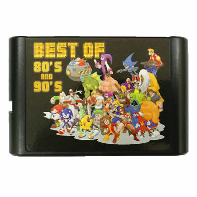 196 in 1 Game Cartridge Multicart for SEGA Genesis Mega Drive MD Game Console