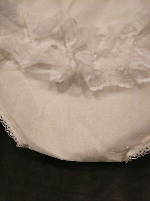Vintage Pazazz  Girls White Lace Bloomers Panties  XL