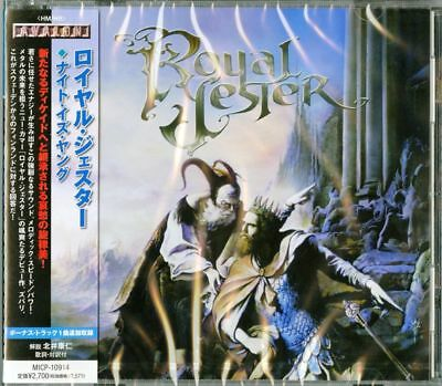 Royal Jester-Night Is Young-Japan Cd Bonus Track F75