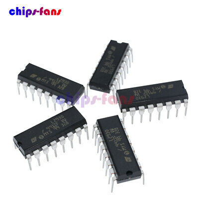 5PCS L293D L293 Push-Pull Four-Channel Motor Driver IC DIP-16