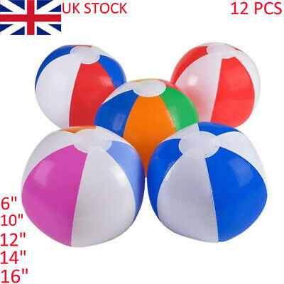 Cartoon Kids Inflatable Blow-up Ball Doll Swimming Pool Toy Xmas Gift