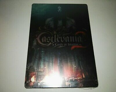 Castlevania Lords of Shadow 2 Steelbook G1  Steelbook ONLY, NO Game Disc  NEW