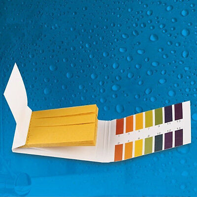 80 Strips 1-14 PH Wert Teststreifen Wassertest Indikator Water Food Test Paper