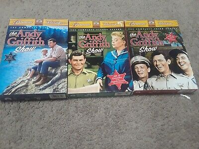 The Andy Griffith Show Seasons 1 2 3 DVD Sets