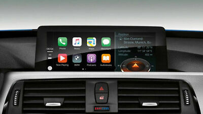 BMW CarPlay Activation & Video In Motion & Lifetime Map Update - USB Plug&Play