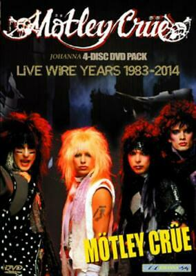 NEW MOTLEY CRUE - LIVE WIRE YEARS 1983-2014 DVD F/S ##Mm